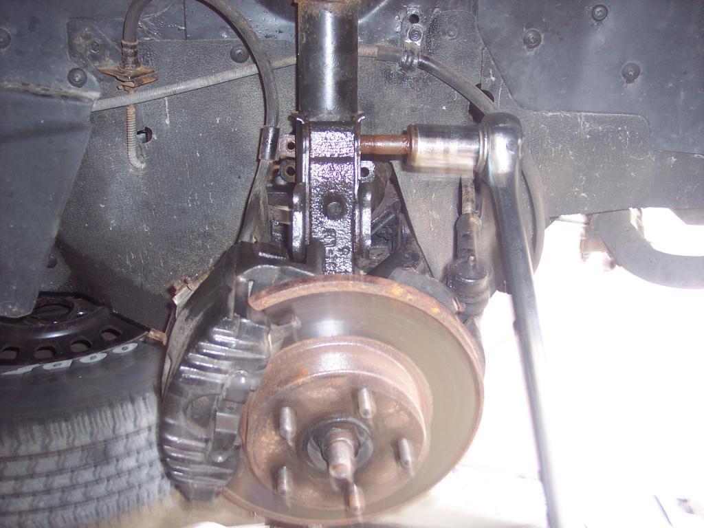 Pennock's Fiero Forum - Removing rear struts pre 88 (by kendallville)