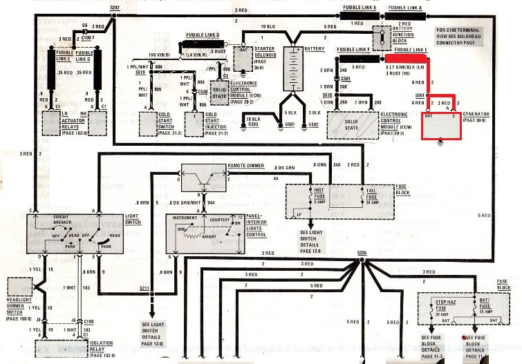 L67 Engine Swap Wiring Diagram And Fuse Box