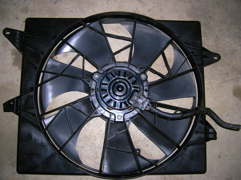 Champion 3 Core Radiator And High Cfm Volvo Electric Fan