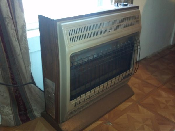 Space Heater Versus Natural Gas