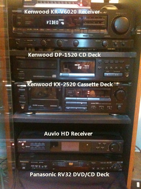 Speakers Fisher 15 4 Way Electro Voice 10 2 Marantz 12 Ported All Collected Over The Years These Are Large Cabinet
