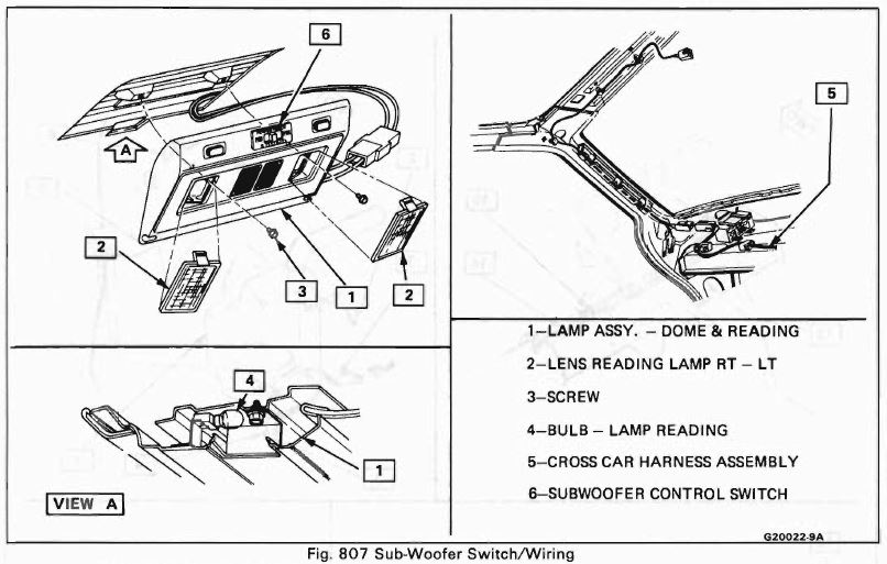 1984 fiero wiring harness